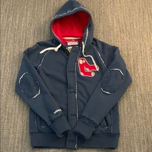 Mitchell & Ness Red Sox zip up hoodie